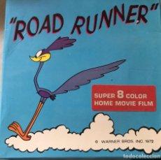 """Cine: SÚPER 8 COLOR , """"ROAD RUNNER"""", 1972,. Lote 223555655"""