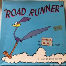 """Cine: SÚPER 8 , """"ROAD RUNNER """" 1972. Lote 223556386"""