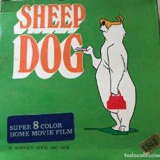 """Cine: SÚPER 8 COLOR, """"SHEEP DOG"""", 1972. Lote 223557548"""