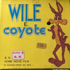 """Cine: SÚPER 8 ,"""" WILE COYOTE"""" 1972.. Lote 223560121"""