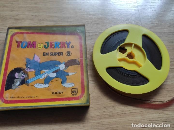 ANTIGUA CINTA SUPER 8 DE TOM Y JERRY COLOR, DE LA METRO (Cine - Películas - Super 8 mm)