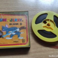 Cine: ANTIGUA CINTA SUPER 8 DE TOM Y JERRY COLOR, DE LA METRO. Lote 224329843