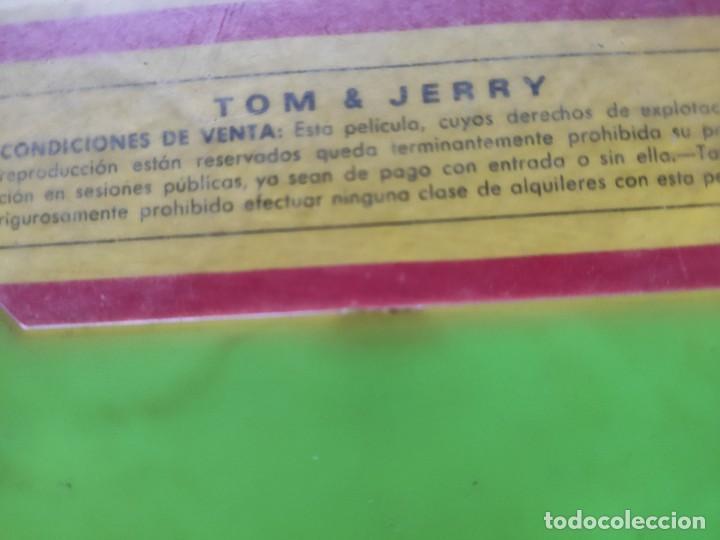 Cine: ANTIGUA CINTA SUPER 8 DE TOM Y JERRY COLOR, DE LA METRO - Foto 4 - 224329843