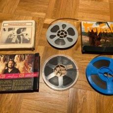 Cine: LOTE DE 3 PELÍCULAS PORNO EROTICAS SUPER 8 TROPICAL INDISCRETIONS LIMBO LAS BRAUN PRODUCTIONS. Lote 227916196