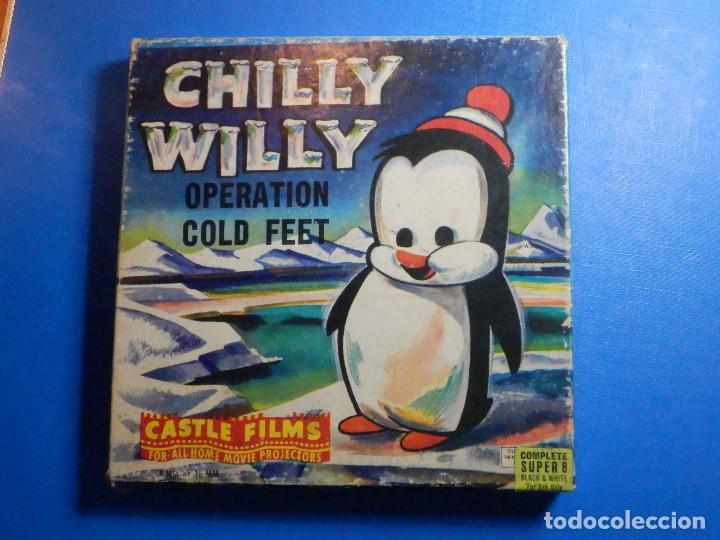 PELÍCULA SUPER 8 - CHILLY WILLY - OPERATION COLD FEET - CASTLE FILMS - B/N (Cine - Películas - Super 8 mm)