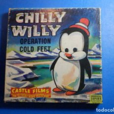 Cine: PELÍCULA SUPER 8 - CHILLY WILLY - OPERATION COLD FEET - CASTLE FILMS - B/N. Lote 228522510