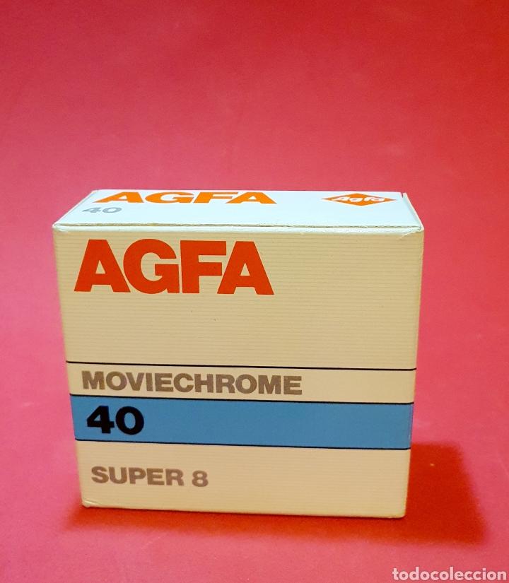 AGFA MOVIECHROME 40 SUPER 8 (Cine - Películas - Super 8 mm)