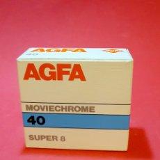 Cine: AGFA MOVIECHROME 40 SUPER 8. Lote 230004550
