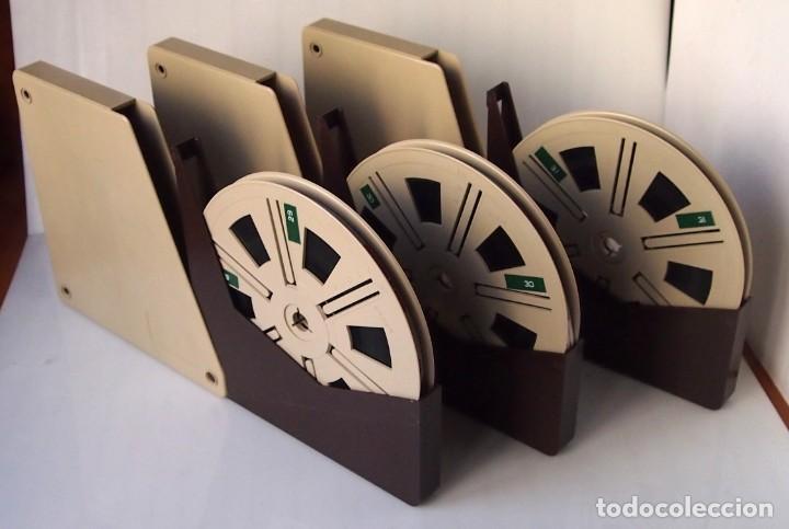 PELICULA EN SUPER 8MM VIAJE A ITALIA EN 1979 - TRES BOBINAS DE 120M - ITALIA Y SUS GENTES EN 1979 (Cine - Películas - Super 8 mm)