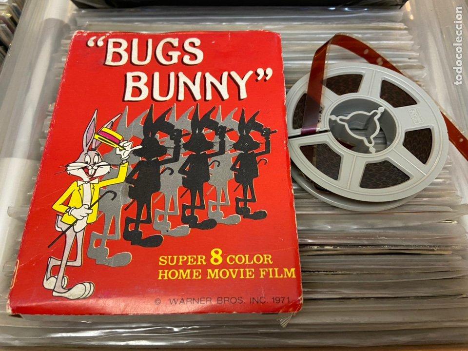 Cine: Bugs bunny super 8 home film película de video - Foto 2 - 233496815