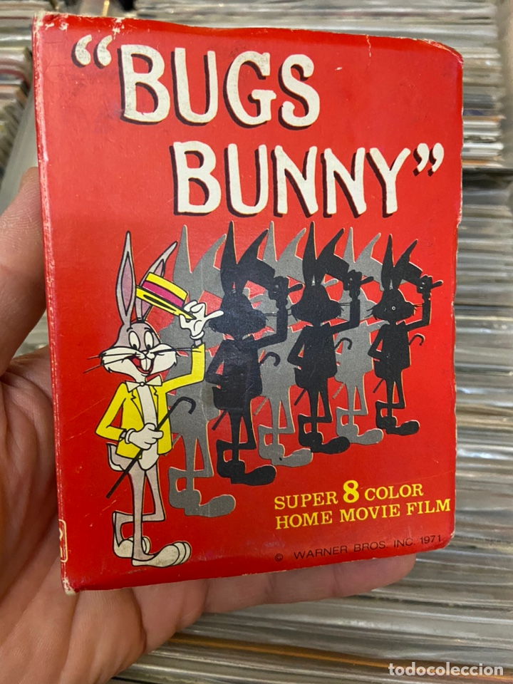 Cine: Bugs bunny super 8 home film película de video - Foto 8 - 233496815