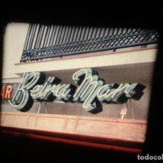Cine: PORTUGAL- VIAJE (MAYO - 1970) 1 X 120 MTS SUPER 8 MM, RETRO VINTAGE AMATEUR FILM. Lote 233510345