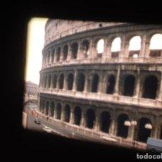 Cine: ROMA (ABRIL-1974) - 1 X 120 MTS SUPER 8 MM, RETRO VINTAGE AMATEUR FILM,STUNNIG COLOR. Lote 234015780