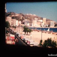 Cine: BENIDORM (JULIO 1975)-ANTIGUAS BOBINAS DE PELÍCULA FILMACIONES AMATEUR-SUPER 8 MM,Nº: 4 Y 5. Lote 234016195
