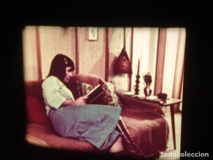 Cine: SCHOOLGIRL- ORGÍA FAMILIAR -1 X 60 MTS -SUPER 8 MM, RETRO VINTAGE FILM - Foto 40 - 234906970