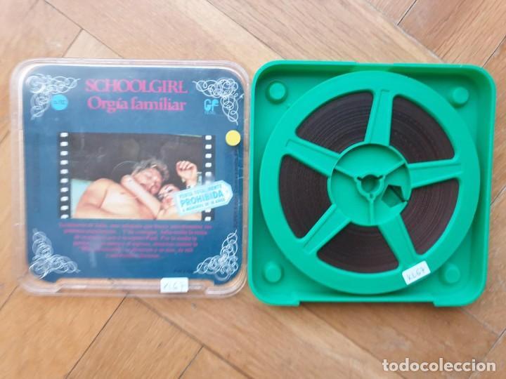 Cine: SCHOOLGIRL- ORGÍA FAMILIAR -1 X 60 MTS -SUPER 8 MM, RETRO VINTAGE FILM - Foto 161 - 234906970