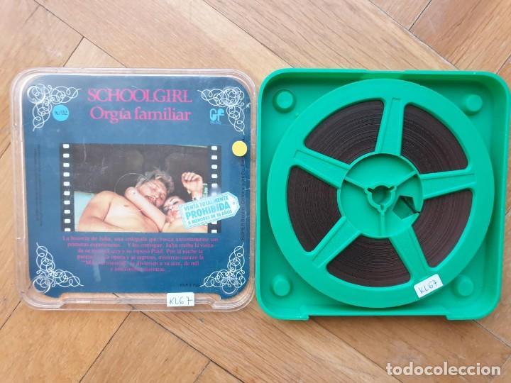 Cine: SCHOOLGIRL- ORGÍA FAMILIAR -1 X 60 MTS -SUPER 8 MM, RETRO VINTAGE FILM - Foto 163 - 234906970