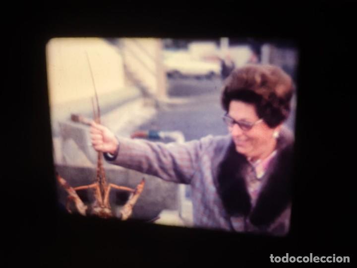 Cine: AMATEUR-VIVEROS DE MARISCO-(1974) 1 X 60 MTS SUPER 8 MM, RETRO VINTAGE FILM - Foto 12 - 234908815