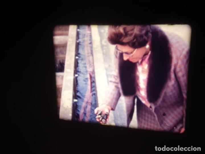 Cine: AMATEUR-VIVEROS DE MARISCO-(1974) 1 X 60 MTS SUPER 8 MM, RETRO VINTAGE FILM - Foto 15 - 234908815