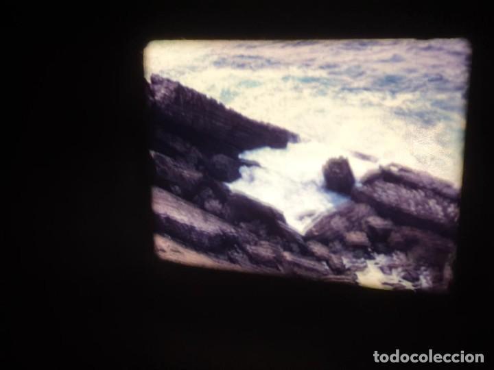 Cine: AMATEUR-VIVEROS DE MARISCO-(1974) 1 X 60 MTS SUPER 8 MM, RETRO VINTAGE FILM - Foto 16 - 234908815