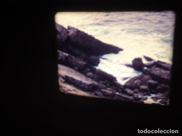 Cine: AMATEUR-VIVEROS DE MARISCO-(1974) 1 X 60 MTS SUPER 8 MM, RETRO VINTAGE FILM - Foto 17 - 234908815