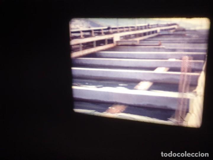 Cine: AMATEUR-VIVEROS DE MARISCO-(1974) 1 X 60 MTS SUPER 8 MM, RETRO VINTAGE FILM - Foto 19 - 234908815