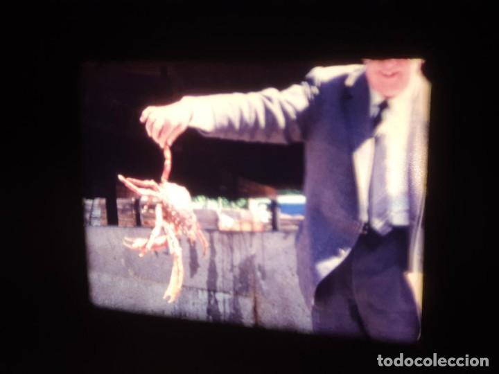 Cine: AMATEUR-VIVEROS DE MARISCO-(1974) 1 X 60 MTS SUPER 8 MM, RETRO VINTAGE FILM - Foto 52 - 234908815