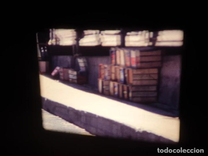 Cine: AMATEUR-VIVEROS DE MARISCO-(1974) 1 X 60 MTS SUPER 8 MM, RETRO VINTAGE FILM - Foto 53 - 234908815