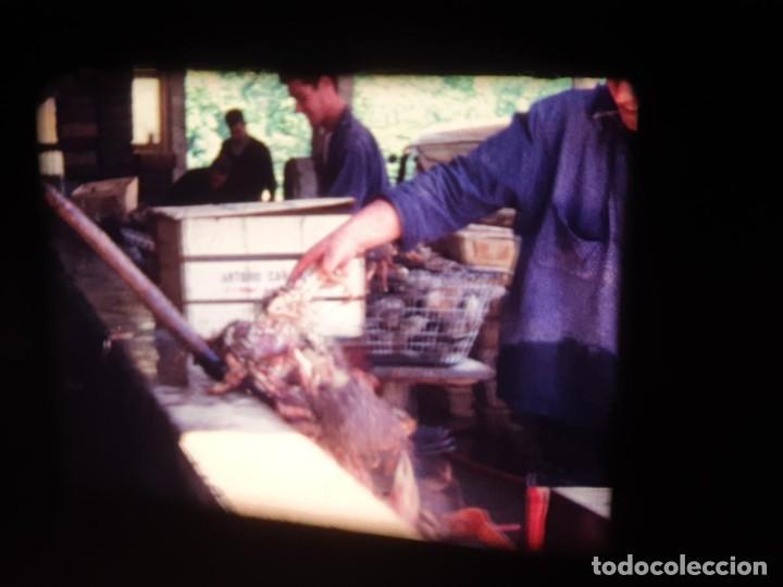 Cine: AMATEUR-VIVEROS DE MARISCO-(1974) 1 X 60 MTS SUPER 8 MM, RETRO VINTAGE FILM - Foto 58 - 234908815