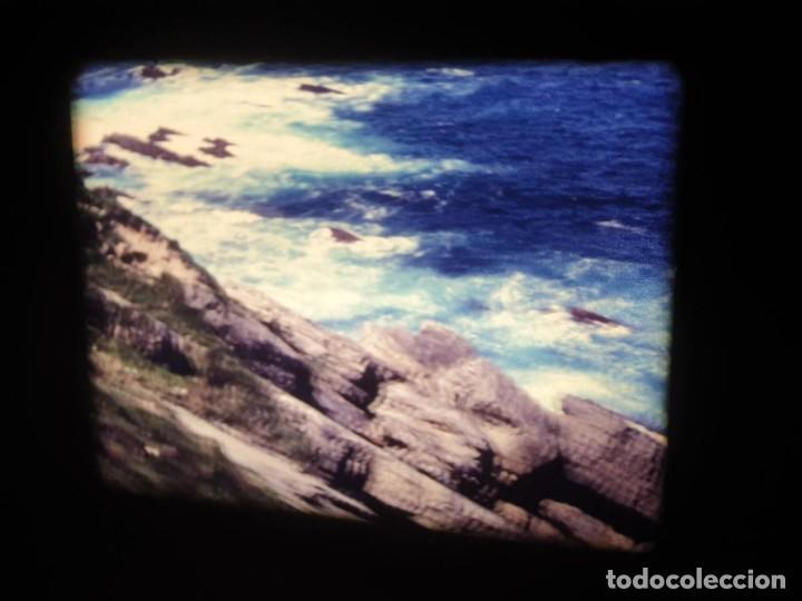 Cine: AMATEUR-VIVEROS DE MARISCO-(1974) 1 X 60 MTS SUPER 8 MM, RETRO VINTAGE FILM - Foto 59 - 234908815