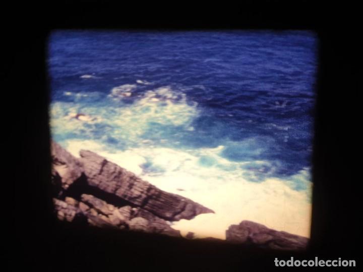 Cine: AMATEUR-VIVEROS DE MARISCO-(1974) 1 X 60 MTS SUPER 8 MM, RETRO VINTAGE FILM - Foto 60 - 234908815