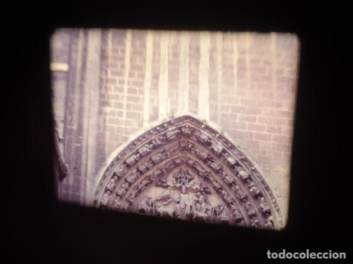 Cine: AMATEUR-VIVEROS DE MARISCO-(1974) 1 X 60 MTS SUPER 8 MM, RETRO VINTAGE FILM - Foto 125 - 234908815