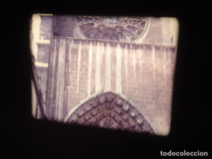 Cine: AMATEUR-VIVEROS DE MARISCO-(1974) 1 X 60 MTS SUPER 8 MM, RETRO VINTAGE FILM - Foto 126 - 234908815