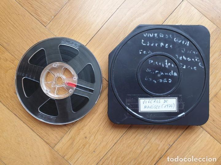 Cine: AMATEUR-VIVEROS DE MARISCO-(1974) 1 X 60 MTS SUPER 8 MM, RETRO VINTAGE FILM - Foto 187 - 234908815