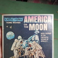 Cine: AMERICA ON THE MOON.NASA FOOTAGE THE VOYAGE OF APOLLO 11...SUPER 8 COLOR. Lote 235785155