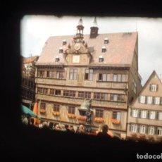Cine: STUTTGART ( JULIO-1977 ) - III -1 X 120 MTS SUPER 8 MM, RETRO VINTAGE AMATEUR FILM,STUNNIG COLOR. Lote 236930510