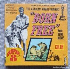 Cine: BORN FREE / NACIDA LIBRE SUPER 8MM. COLUMBIA. Lote 237116055