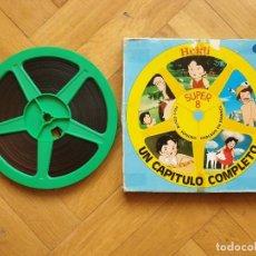 "Cine: HEIDI- "" LA CARTA QUEMADA"" CAPITULO COMPLETO,1 X 180 MTS- SUPER 8 MM RETRO VINTAGE FILM. Lote 242240985"