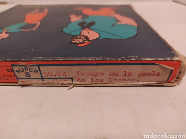 Cine: Popeye súper 8 a color Film Offce- Popeye en la jaula de leones - Foto 4 - 242287900