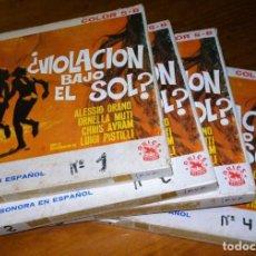 Cine: VIOLACION BAJO EL SOL - ORNELLA MUTTI, ALESSIO ORANO, LUIGI PISTILLI - LARGOMETRAJE SUPER 8 MM. Lote 245371375