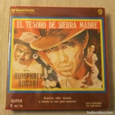 Cine: EL TESORO DE SIERRA MADRE FILM SUPER 8 BOGART/JOHN HUSTON. Lote 246061085