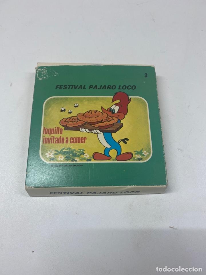 PELICULA SUPER 8 MM PAJARO LOCO (Cine - Películas - Super 8 mm)