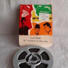 Cinéma: LAUREL & HARDY LEGIONARIOS DE PEGA ARIES FILMS SUPER 8 B/N. Lote 252799505