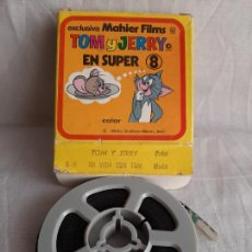 Cinéma: TOM Y JERRY MI VIDA CON TOM SUPER 8 COLOR MAHIER FILMS. Lote 252801690