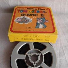 Cinéma: TOM Y JERRY UN CACHORRITO ENCANTADOR SUPER 8 COLOR MAHIER FILMS. Lote 252802030