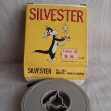Cinéma: SILVESTER PIOLÍN SILVESTRE PESCA SUBACQUEA SUPER 8 B/N WARNER BROS TECHNO FILM. Lote 252803450