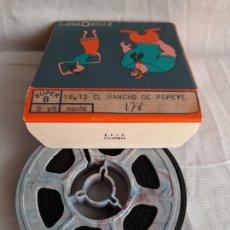 Cinéma: POPEYE EL RANCHO DE POPEYE LE RANCH DE POPEYE SUPER 8 B/N FILM OFFICE. Lote 252804345