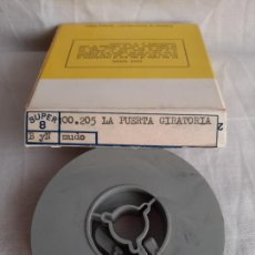 Cinéma: CHARLOT LA PUERTA GIRATORIA THE TURNABLE DOOR SUPER 8 B/N EURO FILM. Lote 252804775