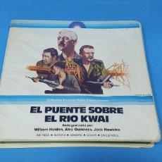Cine: PELÍCULA - EL PUENTE SOBRE EL RIO KWAI - COLUMBIA PICTURES - SONORO / COLOR / EN ESPAÑOL. Lote 253445225
