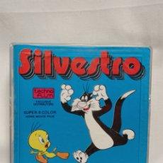 Cine: PELÍCULA DIBUJOS ANIMADOS 8MM SILVESTRO ,ASALTO AL BANCO AÑO 1972 WARNER BROS. Lote 254267765